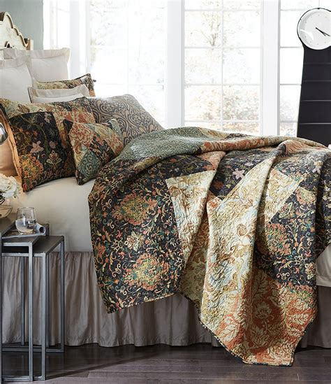 villa bedding villa by noble excellence pasaro embroidered patchwork