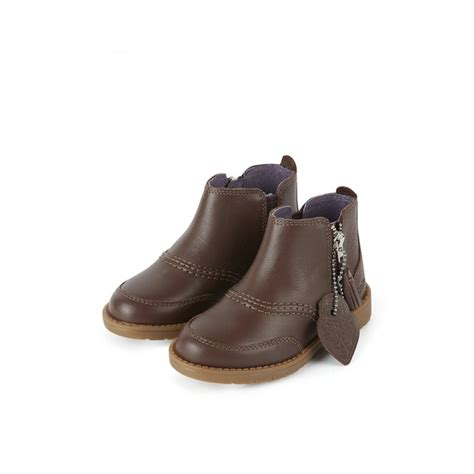 lachley zip boot infant brown from kickers uk