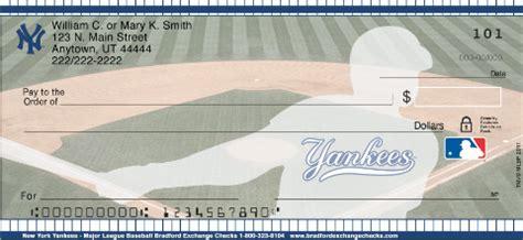 New York Background Check New York Yankees Mlb 174 Personal Checks