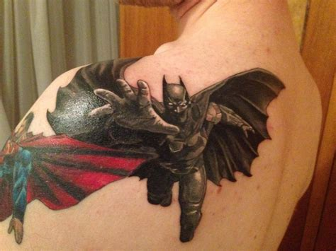 batman tattoo shading 17 best images about superhero tattoo on pinterest