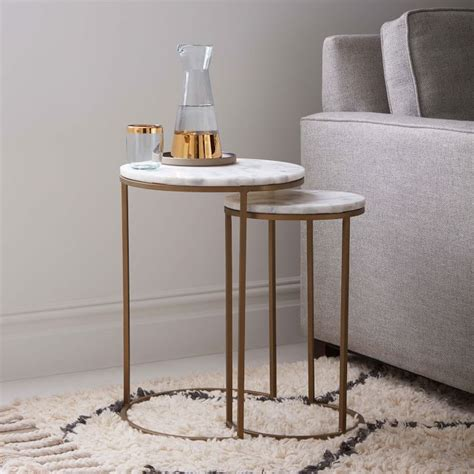 marble top side table marble top side tables add class and to everyday