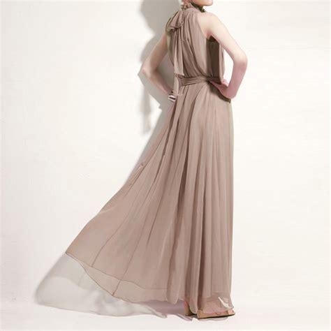 Sleeveless Dress Intl amart bohemian style summer chiffon dresses