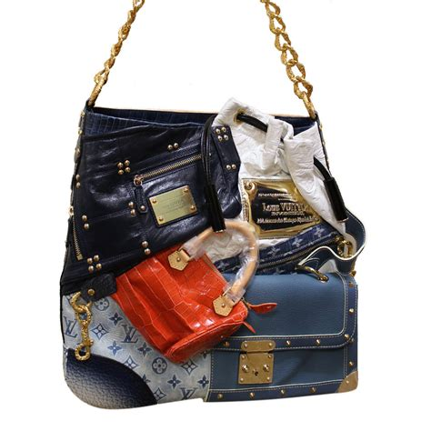 Louis Vuitton Patchwork Bag - top 10 most expensive handbags styledemocracy