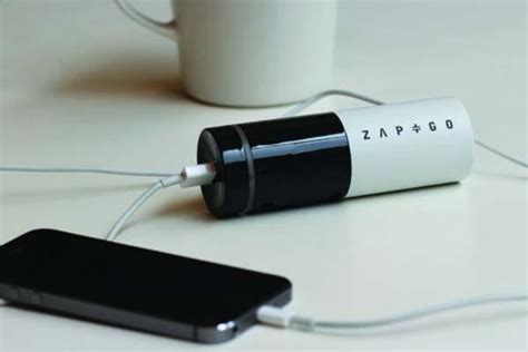 Power Bank Zap zap go graphene supercapacitor 5 minute portable charger gadgetsin