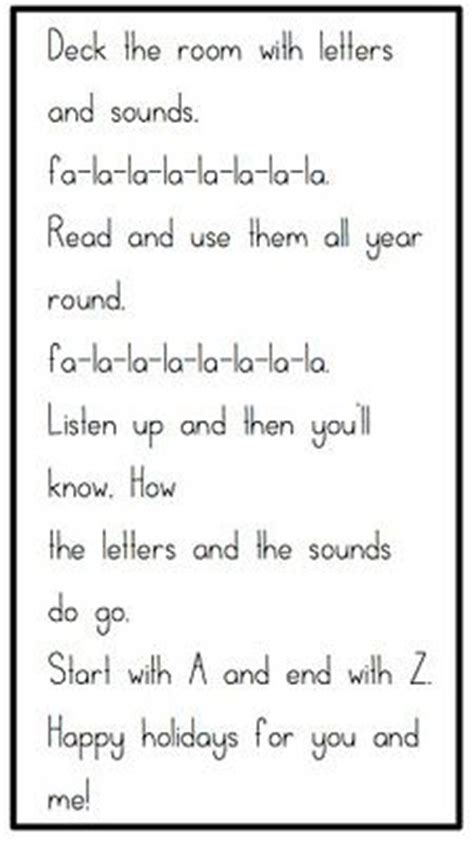 printable a z lyrics 1000 images about preschool songs on pinterest color