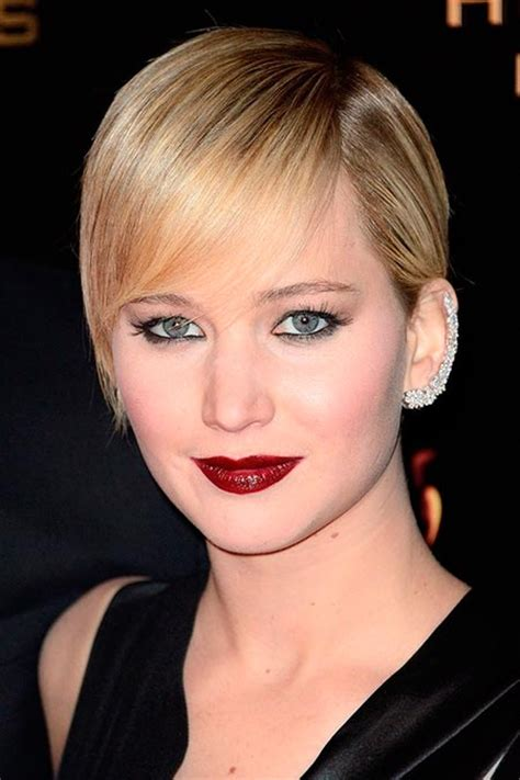 jennifer lawrence hair colors for two toned pixie 20 of the best jennifer lawrence hairstyles beautyfrizz