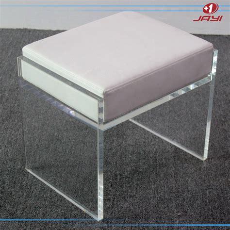 clear acrylic vanity stool china supplier clear transparent acrylic bathroom vanity