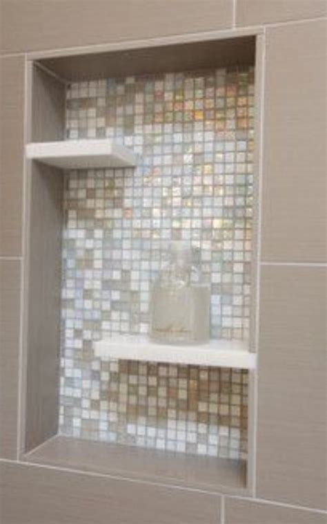 Floating Shower Shelf by Floating Shelf In Shower Niche