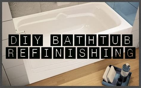 bathtub resurfacing diy how to restore and refinish a tub bathtub refinishing