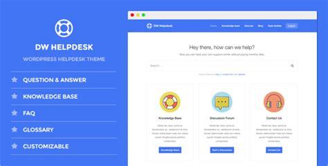 Helpdesk Website Templates Free Premium Templates Helpdesk Website Template
