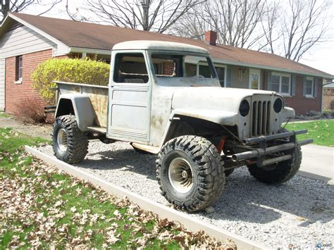 finishing what i started 55 willys truck