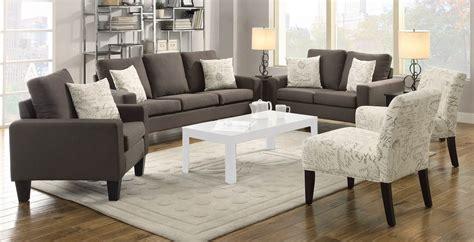 Grey Sofa Set Coaster Bachman Sofa Set Grey 504764 Sofa Set At