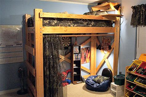 how to loft dorm bed pdf diy dorm room bunk bed plans download doll house bunk