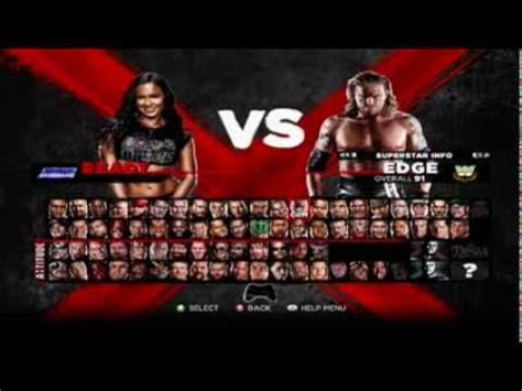 how to mod in wwe the game wwe 13 gender mod tutorial youtube