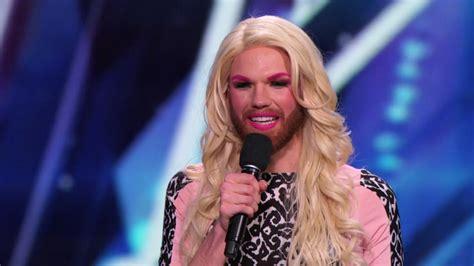 Comedian Cross Dresser by Heierman America S Got Talent Wiki Fandom