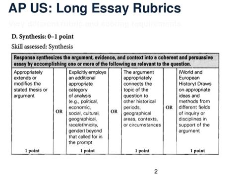 Ap Us History Essay Exles by Ap Us History Free Response Essay Exles Docoments Ojazlink