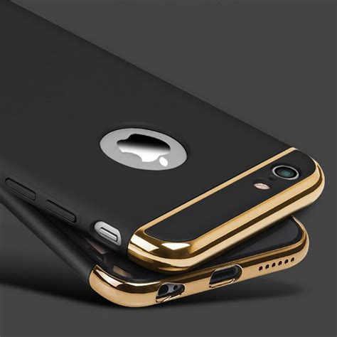 Iphone 7 Plus Ring Protector Black Gold Rosegold 7plus aliexpress buy for iphone 7 plus luxury black gold armor phone for iphone 7 6 6s