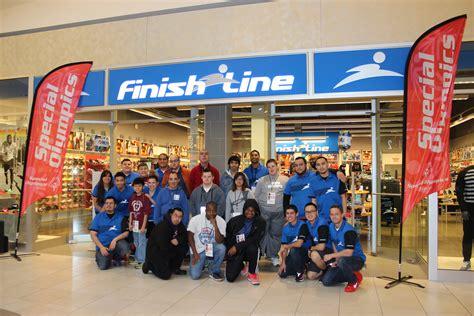 line store 20 athletes receive new shoes from finish line special