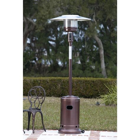 patio heater sense hammer tone bronze commercial patio heater