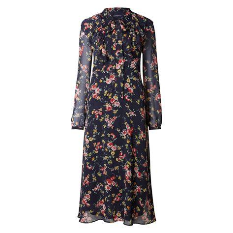 Marks Spencer Floral Print Canvas Bag by Floral Print Dress Endource