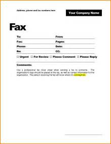 Fax Cover Sheet Pdf by 6 Fax Cover Sheet Template Pdf Resume Portfolio