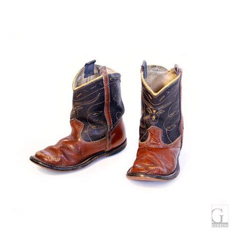Cowboy Boot L by Vintage Children S Cowboy Boots 7 L X 3 D X 6 H 175