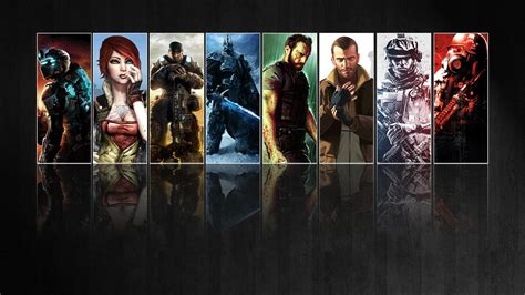 wallpaper game mix collage full hd wallpaper and background image 1920x1080