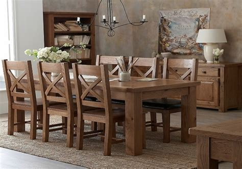 farmhouse style dining room sets white  wood oval