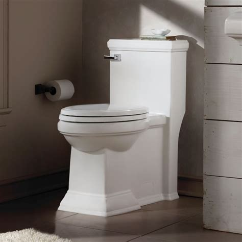 Square Toilet by American Standard Town Square Flowise Rh Elongated 1 Piece
