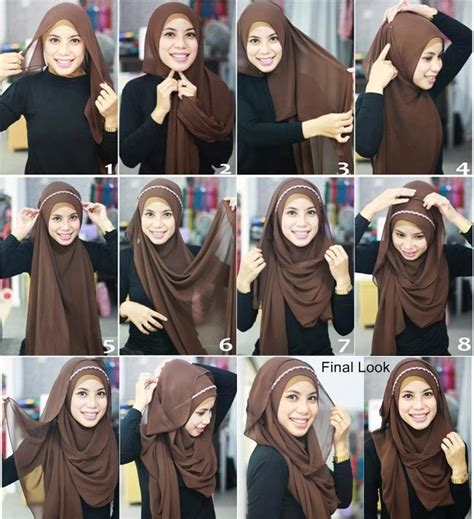 tutorial hijab simple n modern easy and simple hijab tutorial for everyday fun 4 readers