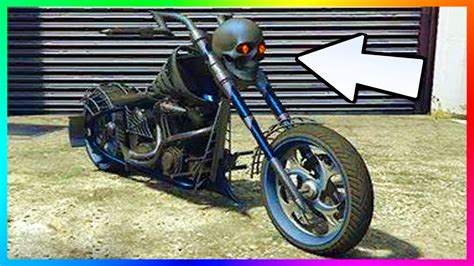 Gta 5 Online Motorrad Mit Totenkopf gta online dlc 8 new unreleased vehicles found halloween