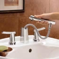bathroom sink sprayer american standard 7010 801 002 green tea two handle