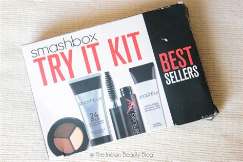 Smashbox Try It Kit Best Seller smashbox try it kit bestsellers review the indian