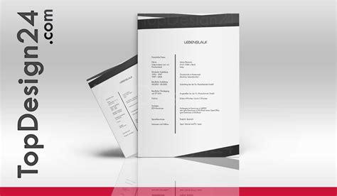 Bewerbung Muster Layout Bewerbung Design Vorlage Topdesign24 Deckblatt Leben