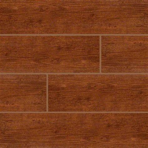 fliese eiche optik sonoma oak 6 in x 24 in glazed ceramic floor and wall tile