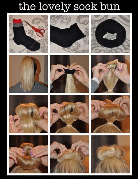 sock hair bun help a new after a pretty horrible ordeal femalefashionadvice