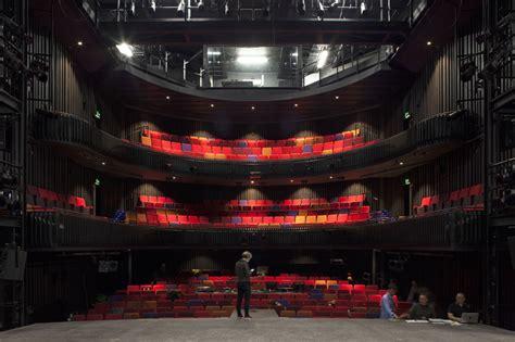 designboom theatre mecanoo completes home cultural center with iridescent