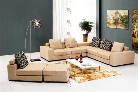low price living room sets u shaped beige low price modern 7 seater sofa set living