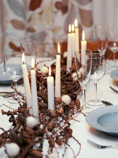 decoracion navide a con ramas adornos navide 241 os mesas con un estilo diferente