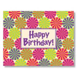 sweet sentiment birthday card