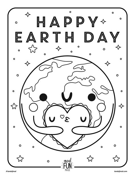 earth day coloring page 2016 free printable coloring page earth day honest to nod