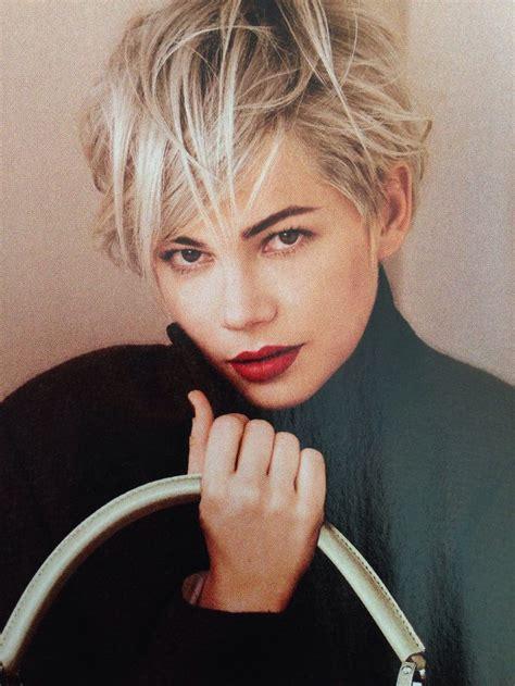 cheap haircuts st louis michelle williams for louis vuitton silver toned hair
