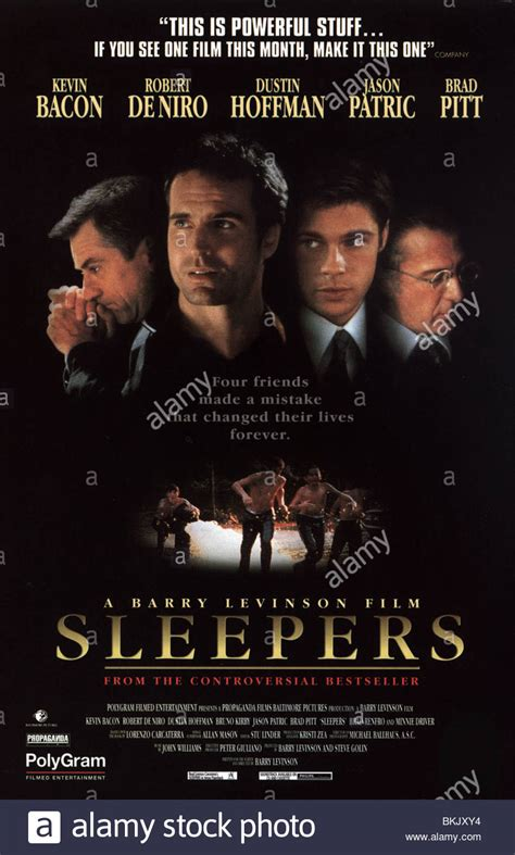 Sleepers 1996 Cast by Sleepers 1996 Poster Stock Photo Royalty Free Image