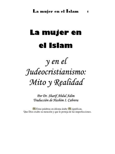 La Mujer en El Islam y en El Judeocristianismo: Mito y