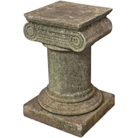 garden plinth in the classical style for