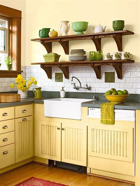 best 25 yellow kitchen walls ideas on light