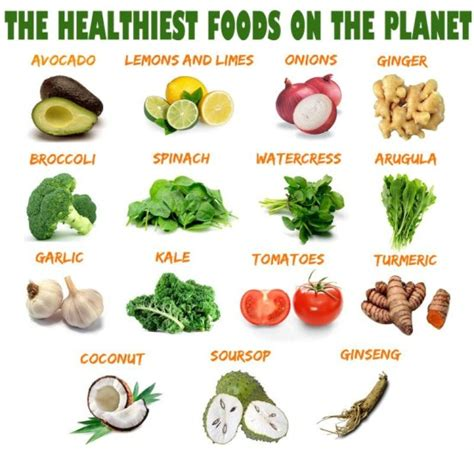 healthiest food the healthiest foods on the planet hilary s