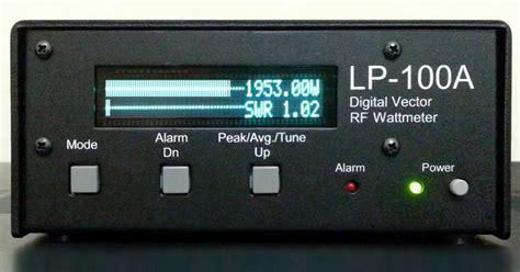 Swr Meter Digital transmission lines