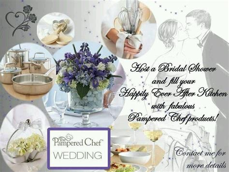 Who Hosts A Bridal Shower by Bridal Shower Pered Chef Ideas
