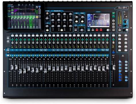 Mixer Allen Heath Qu24 rent mixer mackie 1202vlz 12 channel line mixer rental